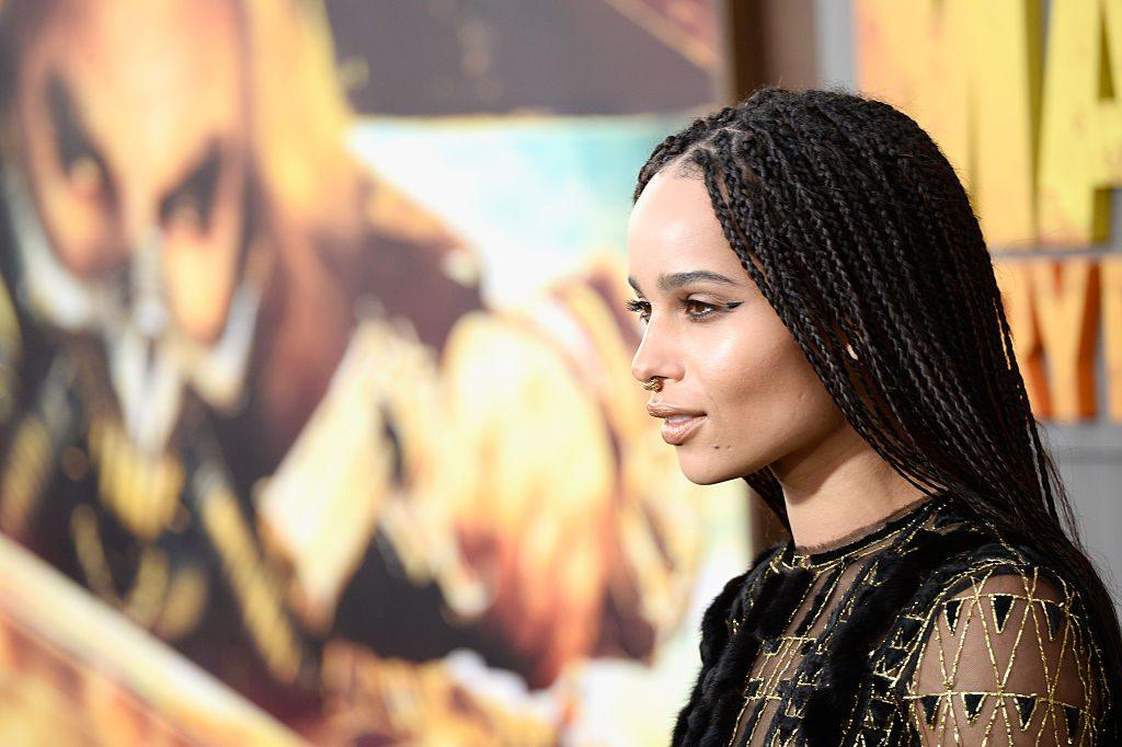 Actress Zoe Kravitz attends the premiere of Warner Bros. Pictures' 'Mad Max: Fury Road'