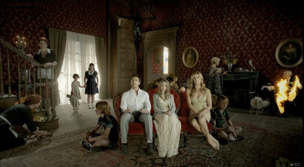 The cast of American Horror Story: Murder House