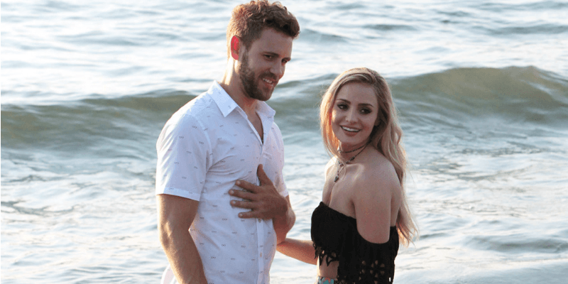 Nick Viall and Leah Block on Bachelor in Paradise NBC