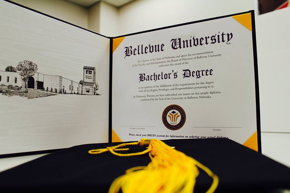 A Bellevue University bachelor's degree