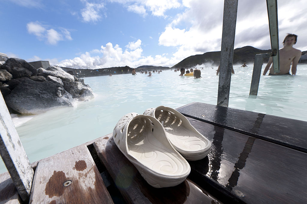Iceland's hot springs