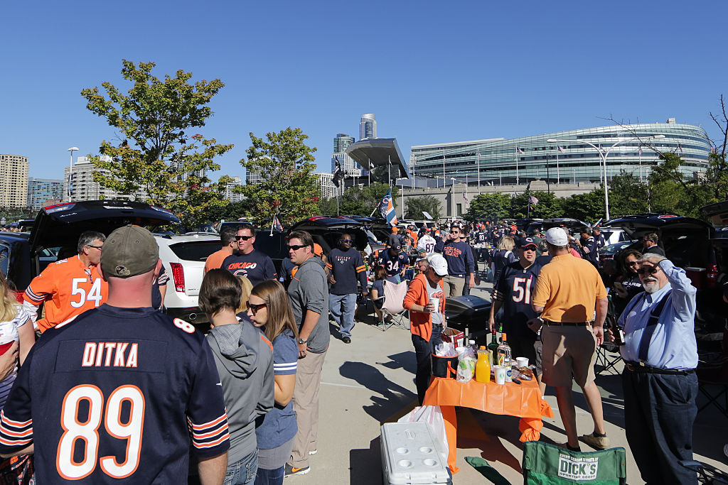 tailgating at an nfl game