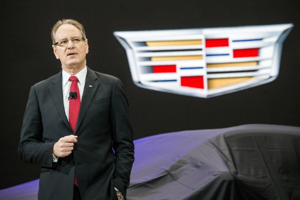Johan de Nysschen at the Cadillac XT5 launch