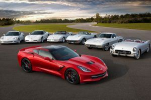 28 Historical Snapshots of the Chevrolet Corvette