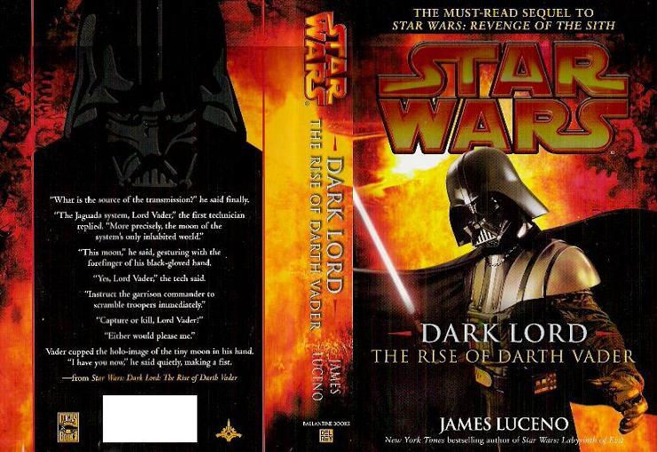 Dark Lord: The Rise of Darth Vader Star Wars book