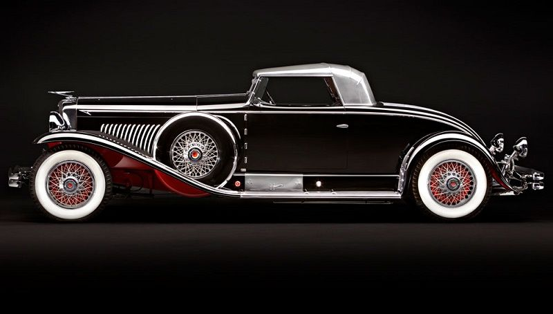 1931 Duesenberg Model J Long-Wheelbase Coupe