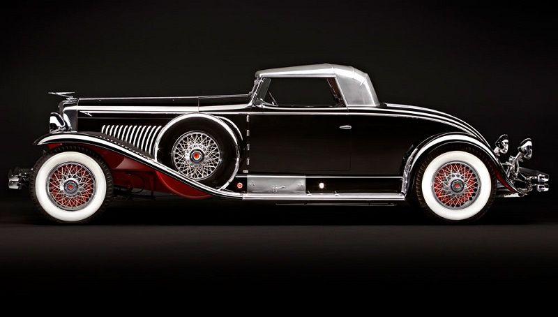 1931 Duesenberg Model J Long-Wheelbase Coupe