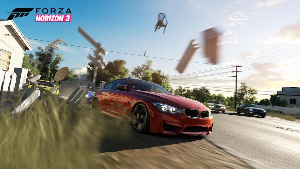A car in 'Forza Horizon 3'