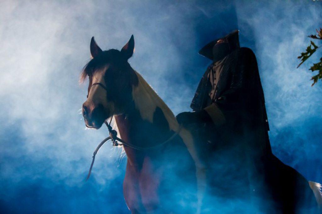headless horseman at Haunted Overlord