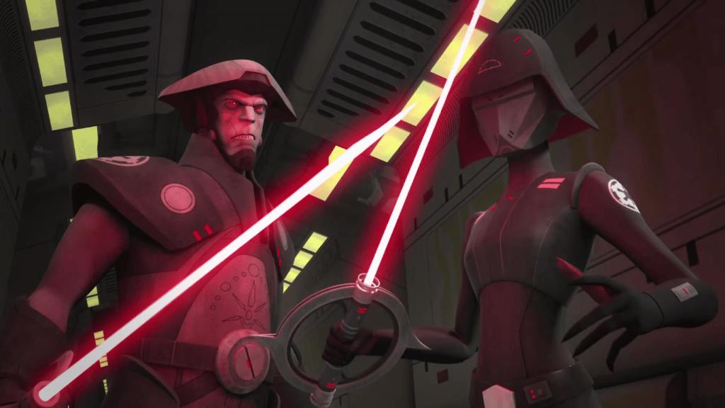 inquisitors - Star Wars Rebels
