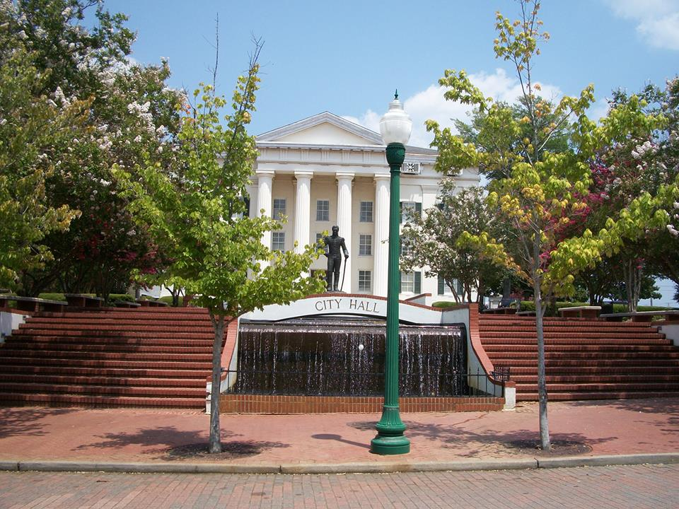 jackson City Hall in Jackson, MS