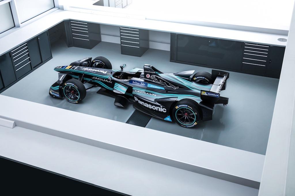 Jaguar's I-Type race car