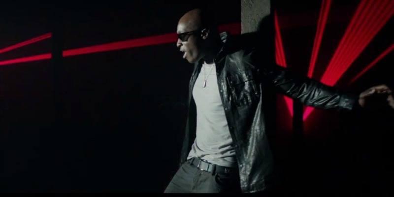 Jermaine Paul is dancing in a music video.