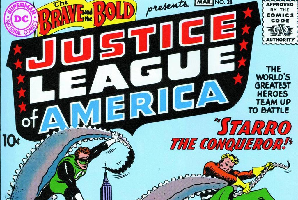 The Justice League of America - DC Comics