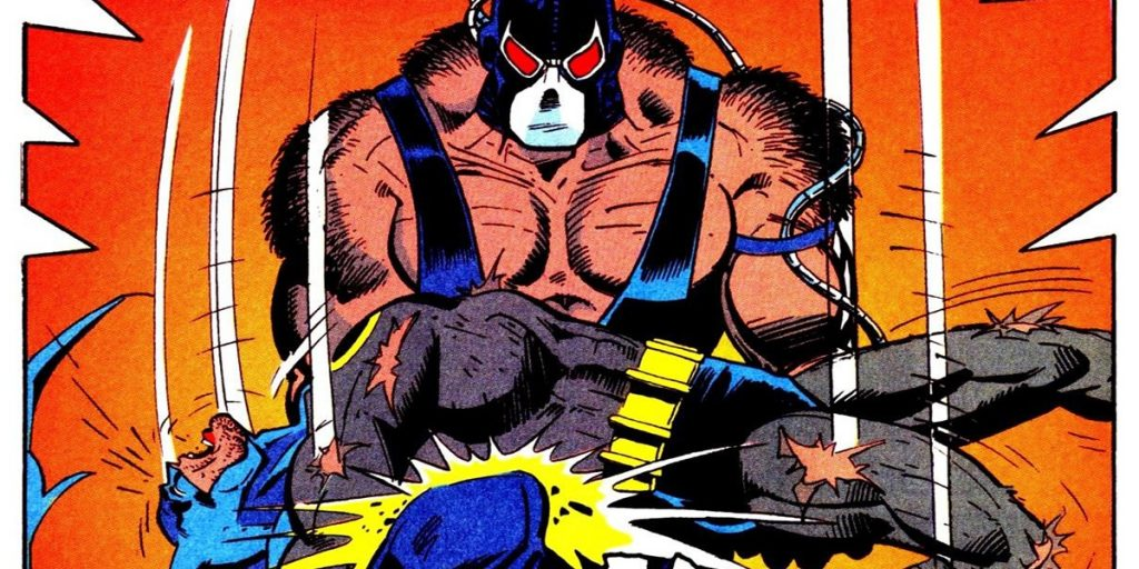 Batman - Knightfall comic