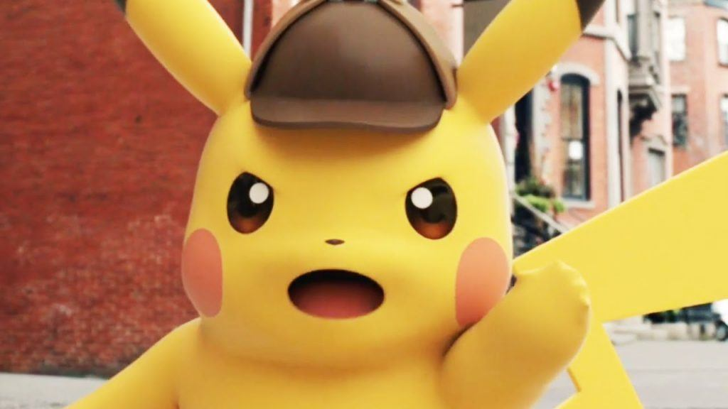 Great Detective Pikachu game   The Pokemon Co.
