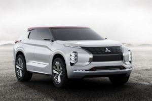 GT-PHEV Concept Previews Mitsubishi's Next-Gen Hybrid Tech