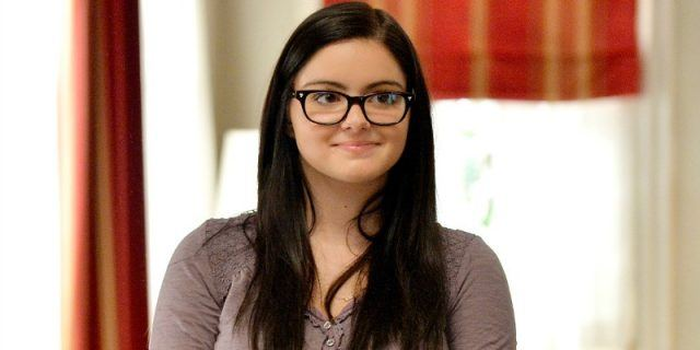 Ariel Winter during a scene in 'Modern Family'.
