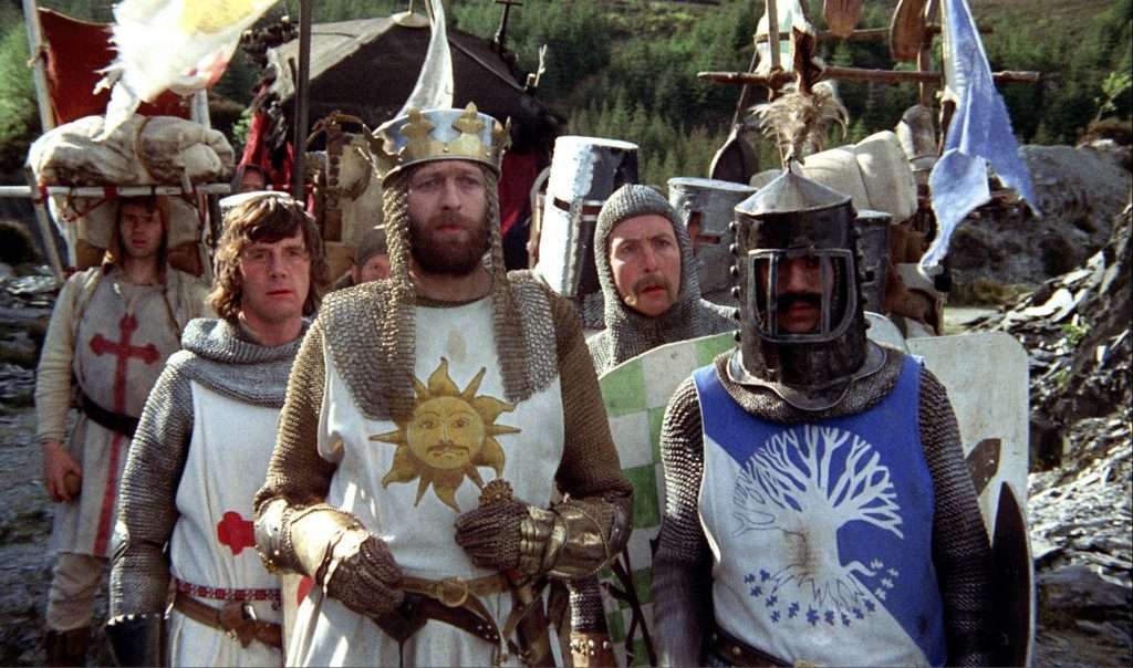 Monty Python and the Holy Grail cast