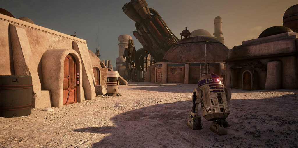 Mos Eisley - Unreal Engine 4