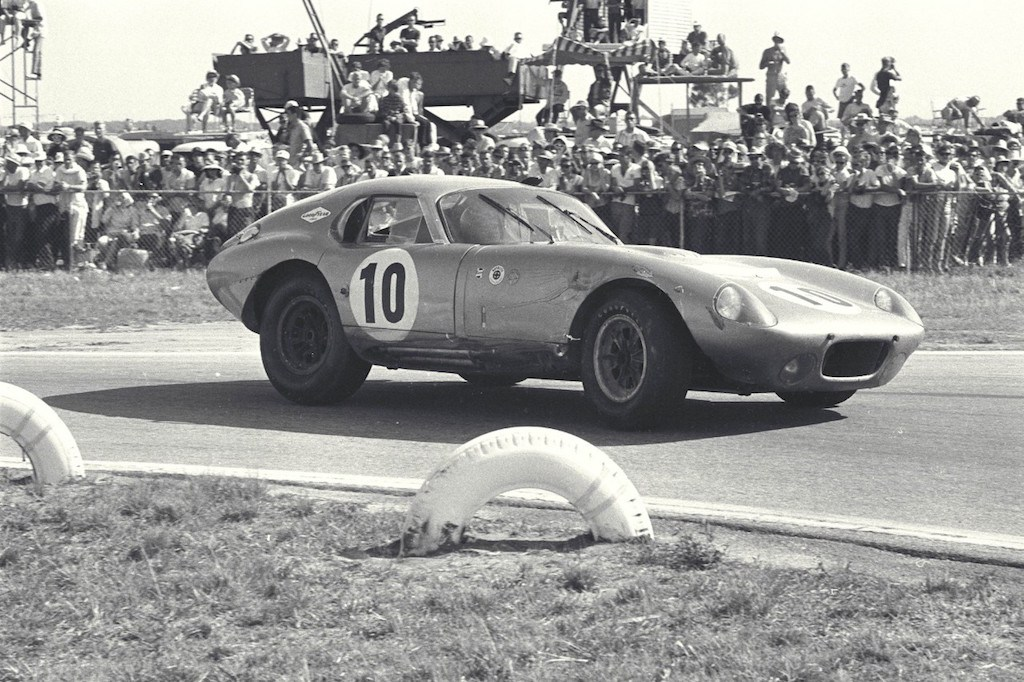Shelby Daytona Coupe at Sebring, 1964