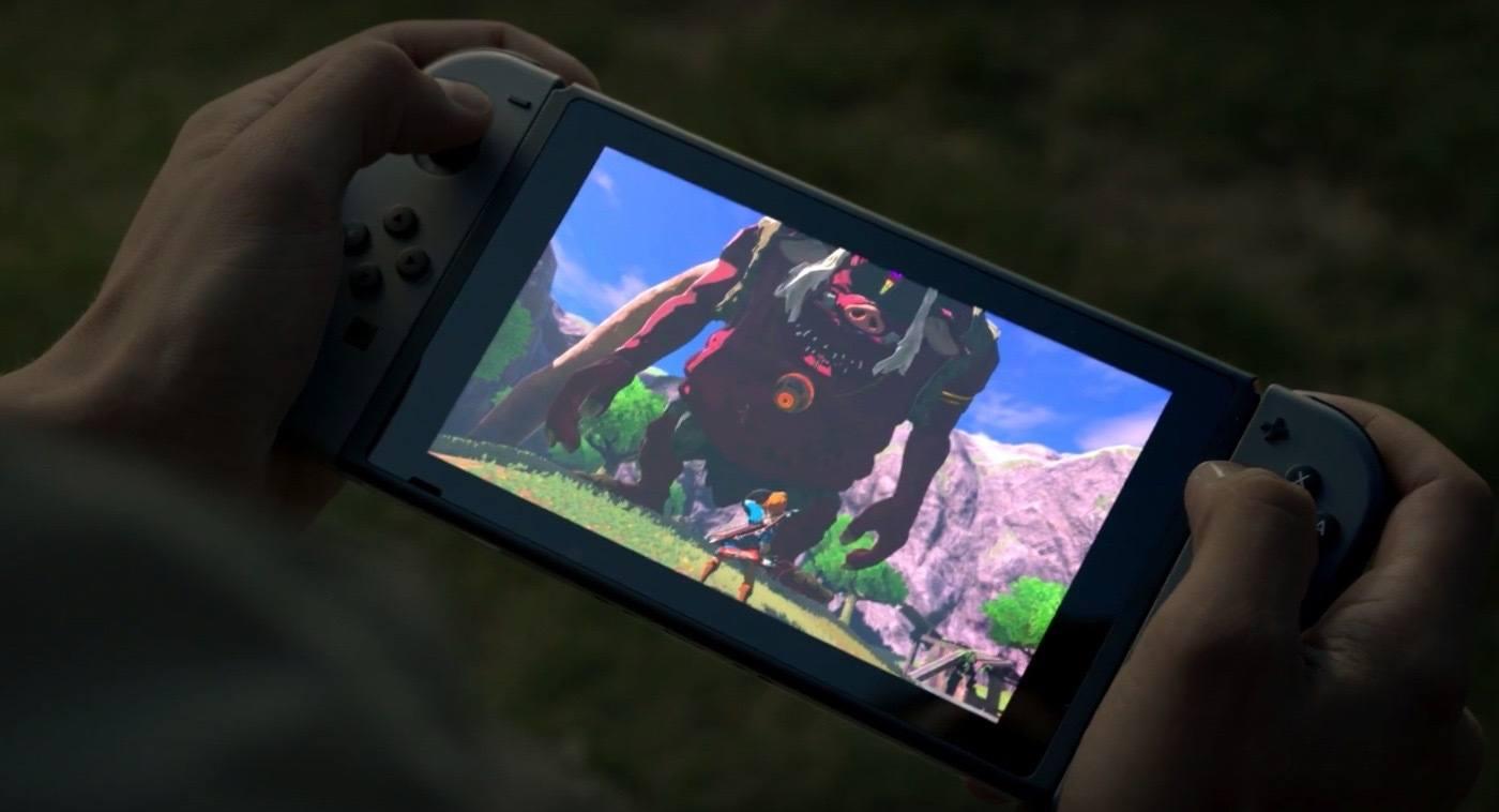 'The Legend of Zelda: Breath of the Wild' on Nintendo Switch