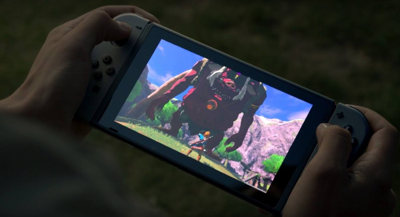 'The Legend of Zelda: Breath of the Wild' on Nintendo Switch