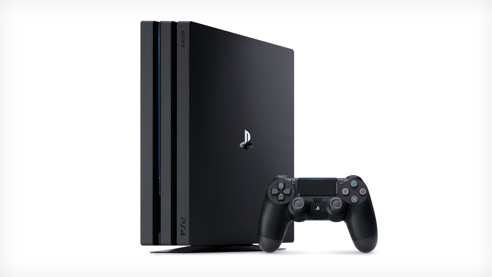 PlayStation 4 Pro and controller