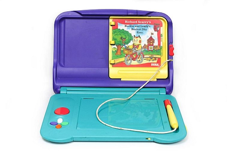 A game console for kids