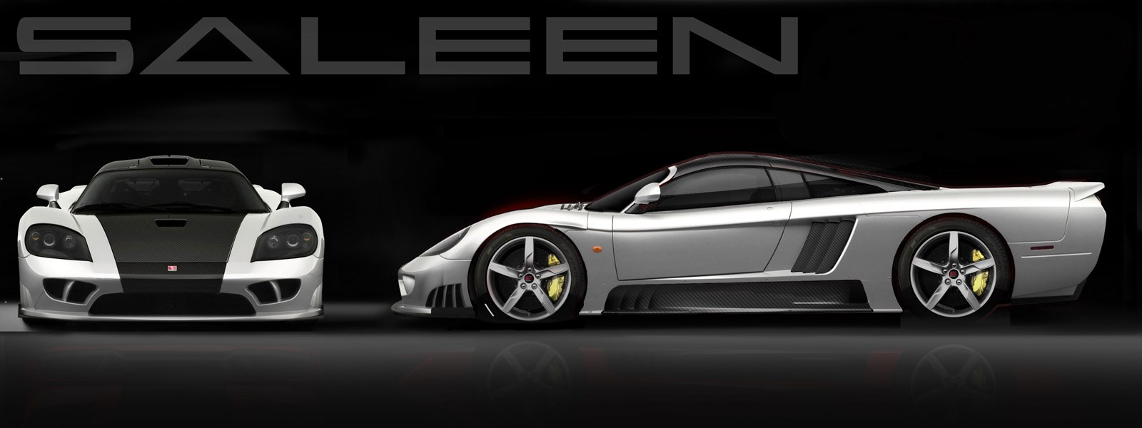 Render of the Saleen S7 LM