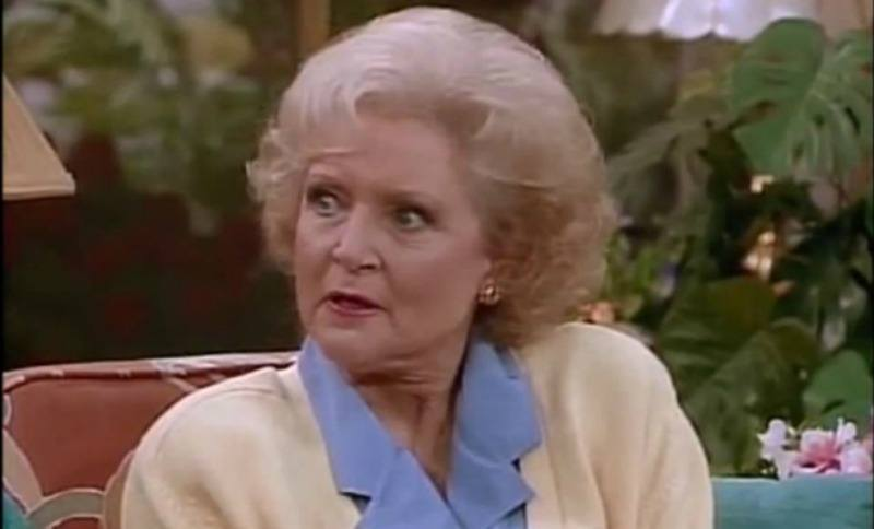Betty White in The Golden Girls Touchstone Television