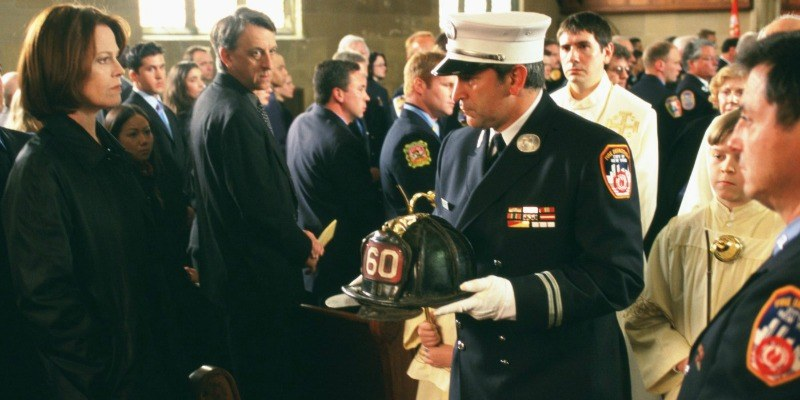 Anthony LaPaglia in the post-September 11 inspired film, The Guys