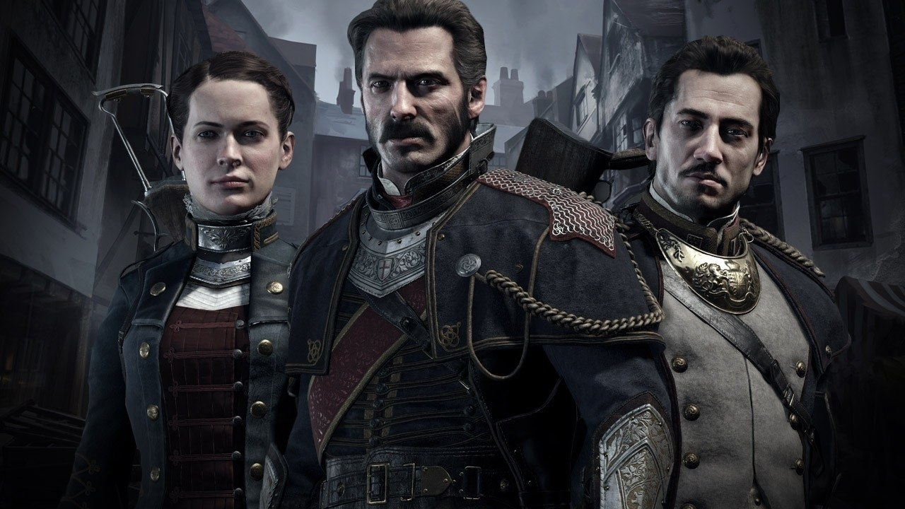 The heroes of 'The Order: 1886'