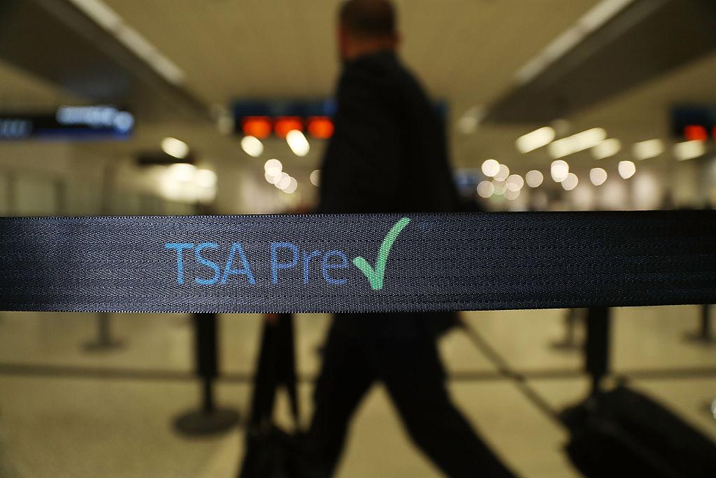 tsa precheck line at miami international airport