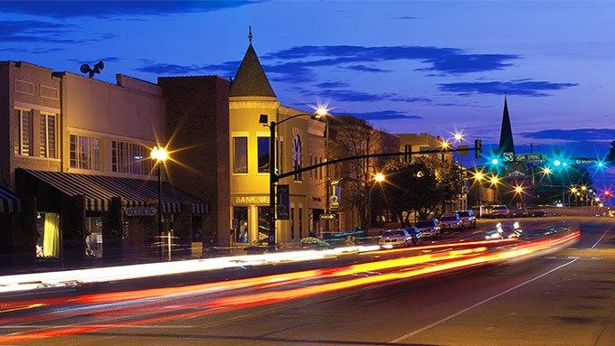 Downtown Tupelo, MS