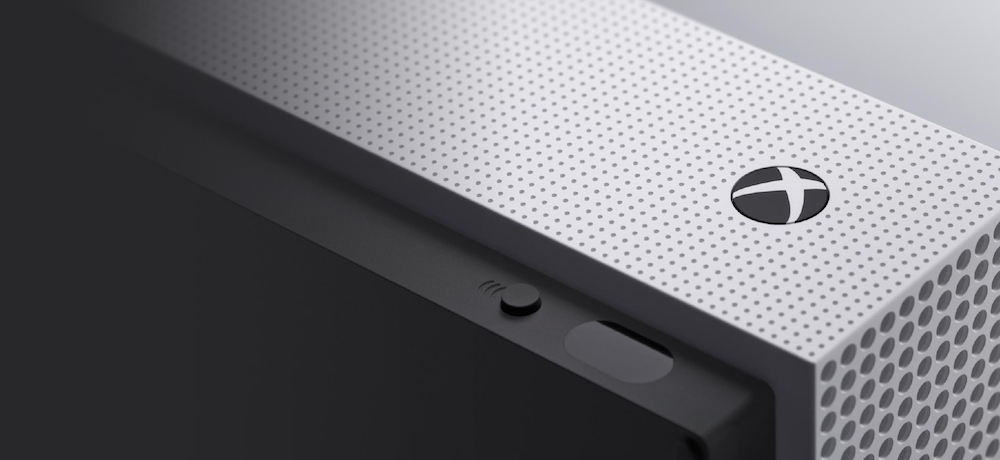 Xbox One S close up