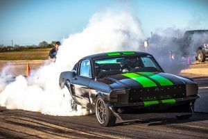 The Quickest Mustang on Earth Is 48 Years Old and Doesn't Use Gas