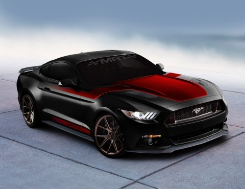 MRT modified 2016 Ford Mustang   Ford