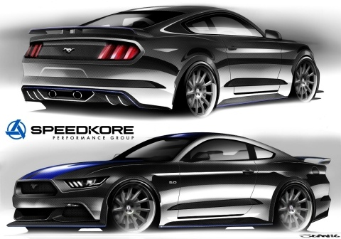 Speedkore modified 2016 Ford Mustang   Ford