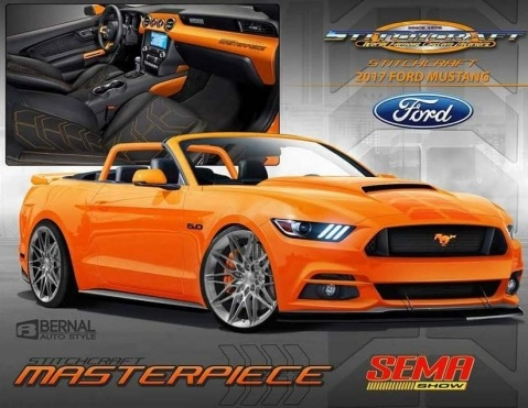 Stitchcraft modified 2016 Ford Mustang   Ford