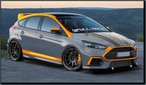 Hyper-Focus Ford Focus RS SEMA Concept   Ford