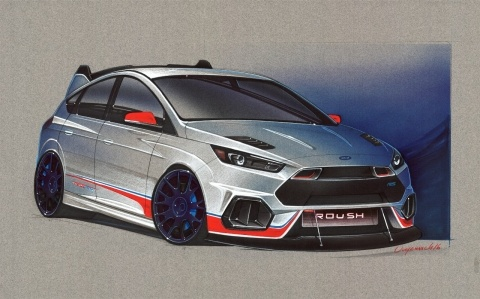Roush Ford Focus RS SEMA Concept   Ford