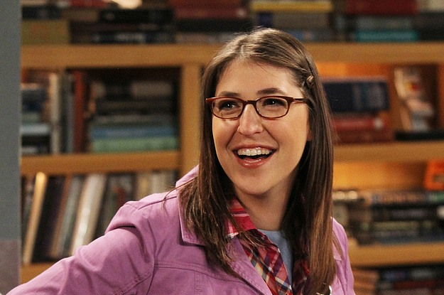 Mayim Bialik as Amy in The Big Bang Theory