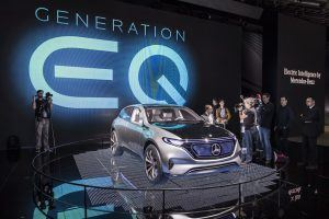 Mercedes to Launch 10 Electric Cars by 2025 Under EQ Sub-Brand
