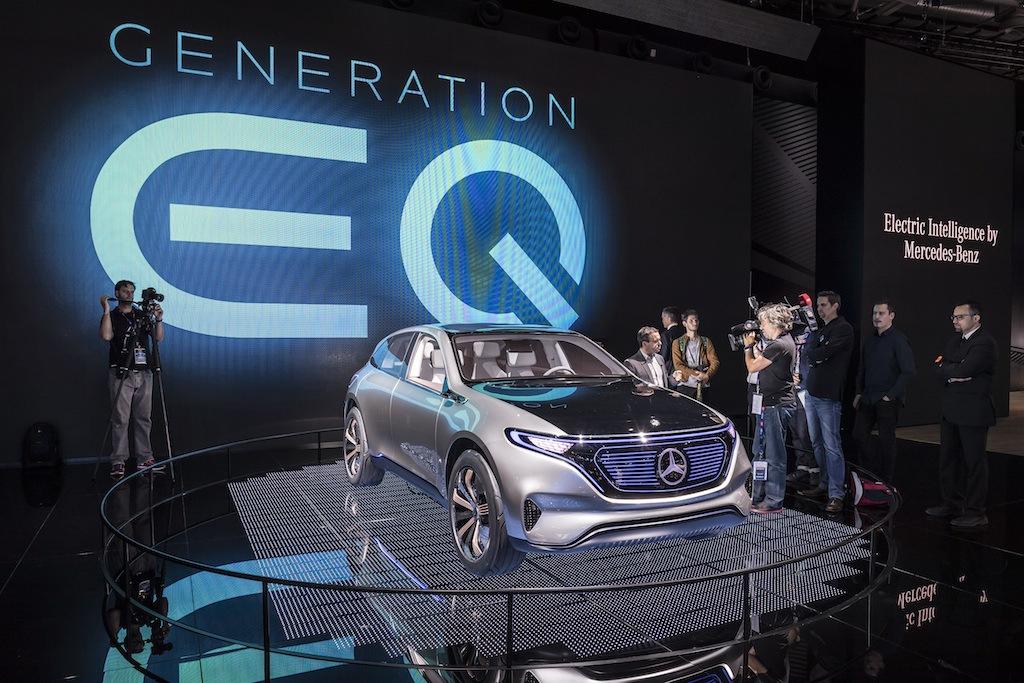 2016 Mercedes-Benz EQ concept