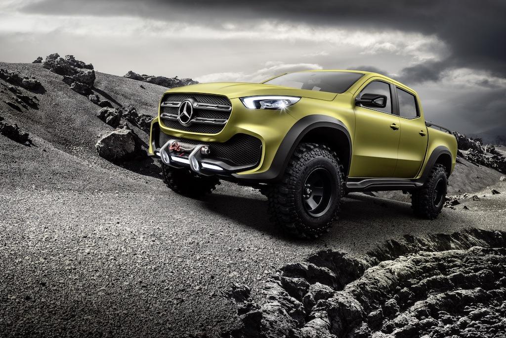 """Mercedes-Benz X-Class """"Powerful Adventurer"""" concept"""