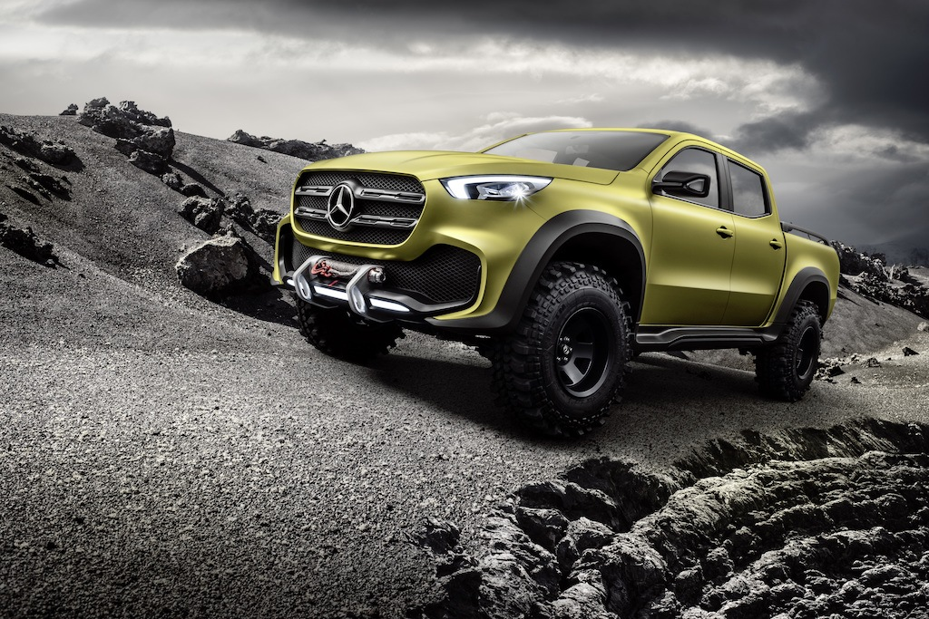 "Mercedes-Benz X-Class ""Powerful Adventurer"" concept 