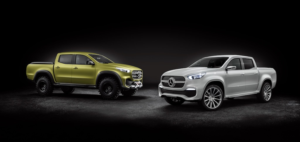5 Things You Need to Know About the New Mercedes-Benz Pickup