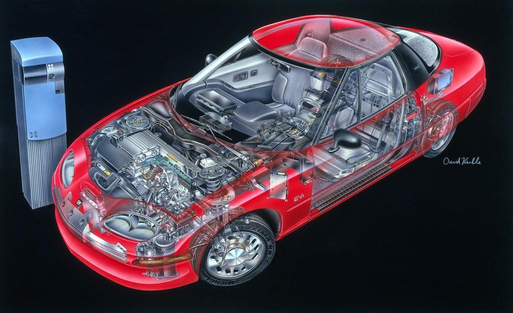 1996 GM EV1   General Motors