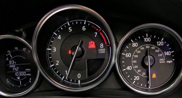 Gauge cluster | Micah Wright/Autos Cheat Sheet